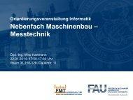 Qualitätsmanagement und Messtechnik - Informatik - Friedrich ...