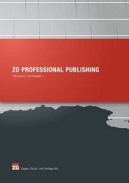 ZD PROFESSIONAL PUBLISHING - Ziegler Druck
