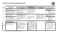 Schulinternes Curriculum Biologie Sek I 2008 - Stadtgymnasium ...