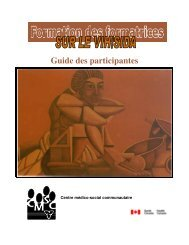 Guide des participantes - Canadian Public Health Association
