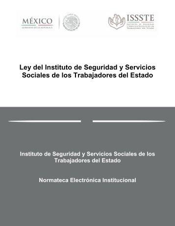 Ley del Instituto de Seguridad y Servicios Sociales de los ...
