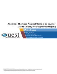 The Case Against Using a Consumer Grade Display For Diagnostic ...
