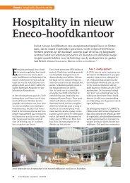 Hospitality in nieuw Eneco-hoofdkantoor - Facto Magazine