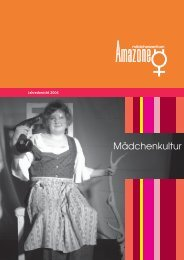 Jahresbericht 2006 - in der Amazone