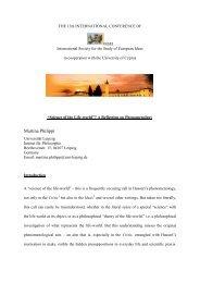 """Science of the Life-world"" - Lekythos"