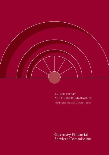 Annual Report 2009 - the Guernsey Financial Services Commission
