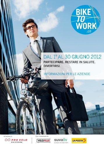 Documentazione di adesione per le aziende - Bike to work