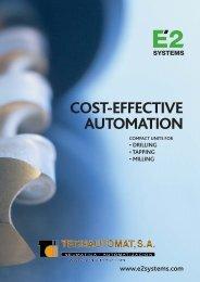COST-EFFECTIVE AUTOMATION - Tecnautomat