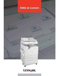 X940e spec sheet-Fr:16783lexD05R2_X940e.qxd - Lexmark