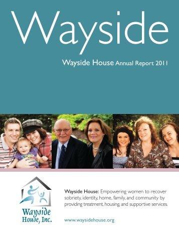 Mental Health - The Wayside House, Inc.