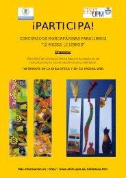 ¡PARTICIPA! - Universidad Politécnica de Madrid