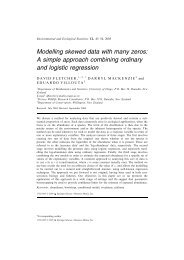 Modelling skewed data with many zeros: A simple ... - ResearchGate