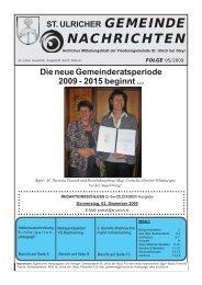 Gemeindezeitung - 05/2009 (556 KB) - St. Ulrich bei Steyr