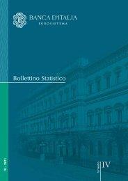 Bollettino Statistico IV - 2011 - Banca d'Italia