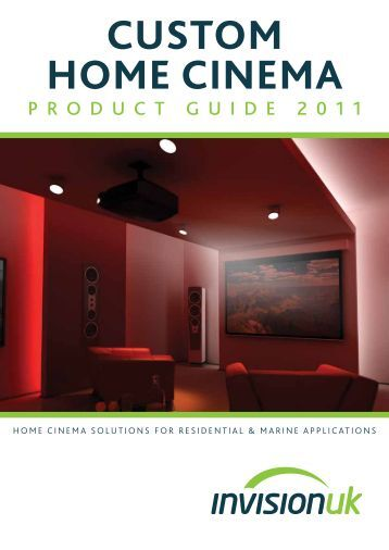 Custom Home Cinema - INDI - The Independent Network of dealers ...