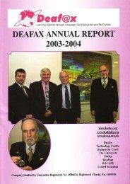 2003-2004 - Deafax