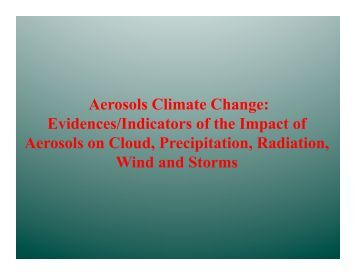Aerosol and Climate Part 3.pdf - Atmospheric and Oceanic Science