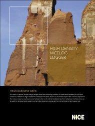 NiceLog Datasheet - Sigma Wireless