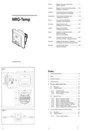termostat NRG