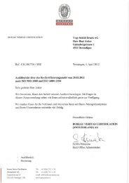 BUREAU VERITAS (IERTIFICATIÜIW vogt schild Druck AG