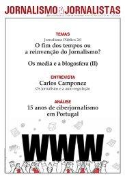 O fim dos tempos ou a reinvenção do Jornalismo? - Clube de ...