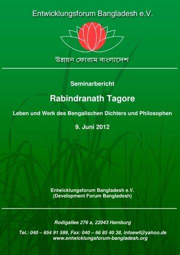 Tagore - Entwicklungsforum Bangladesh eV
