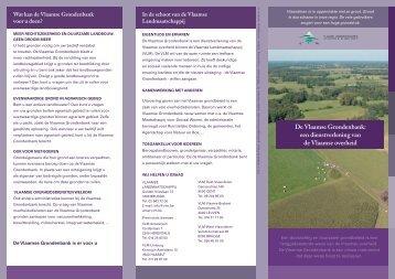 De Vlaamse Grondenbank - Vlaamse Landmaatschappij