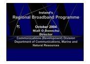 Regional Broadband Programme - Organisation for Economic Co ...