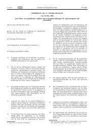VERORDNUNG (EG) Nr. 510/2006 DES RATES vom 20 ... - EUR-Lex