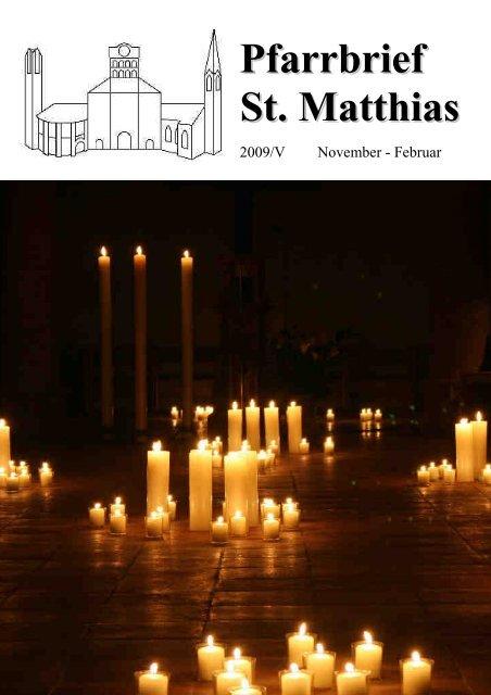 Pfarrbrief 2009_5_komp.pdf - St. Matthias