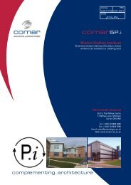 Comar 5P.i. Cladding Interfaces Brochure - Comar Architectural ...