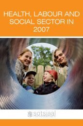 HEALTH, LABOUR AND SOCIAL SECTOR IN 2007