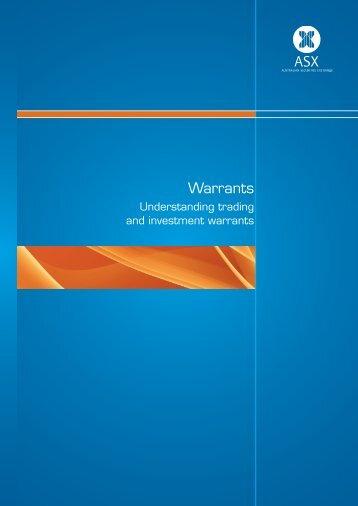Warrants brochure - Understanding trading and ... - Macquarie Bank