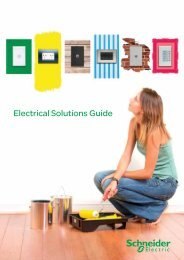 Download the Electrical Solutions Guide - clipsal.co.nz