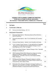 Agenda of Planning Committee Meeting - 13 December 2012