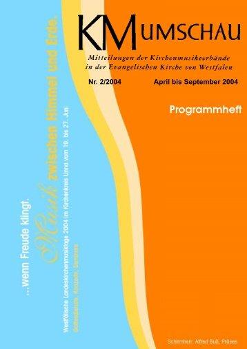 Orgelbegleitbuch - Kirchenmusik Westfalen
