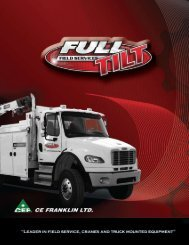 Full Tilt Brochure - CE Franklin Ltd.