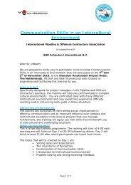Communication Skills in an Intercultural Environment - Iploca