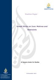 Position Paper Israeli Strike on Iran: Motives and Restraints