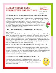 may 2011 newsletter - Birmingham Group Health Services ...
