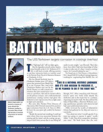 USS Yorktown - Protective Coatings, Protective & Marine Coating ...