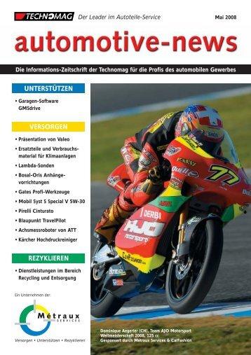 Auto-News 2/2008 de - Technomag AG