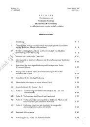 Überlegungen zur Nationalen Strategie nach der ELER-Verordnung