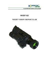 NV207-G2 NIGHT VISION MONOCULAR - Newcon Optik