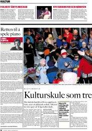 2008 Avisartikkel: Kulturskolen som trekkplaster og ressurs (Nationen)