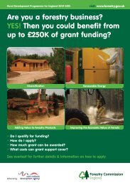 YES! Then you could benefit from up to £250K of grant ... - ConFor