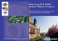 conference programme 2.indd - Urban Water