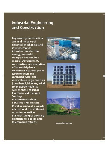 Industrial Engineering and Construction Industrial ... - Abengoa