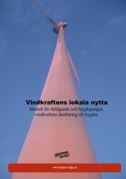 Modell för delägande och Bygdepengar - Till hela sverige