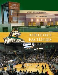 Facilities Booket - Wright State Raider Athletics